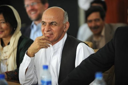 Afghanistan's preliminary presidential election results show ex-Finance Minister Ghani in the lead