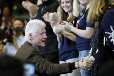 Bill Clinton hits campaign trail for Hillary for the first time in 2016 race