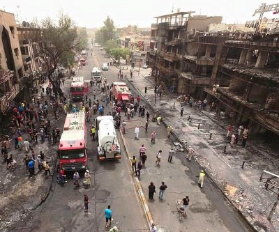 Three bombings in Baghdad kill eight people