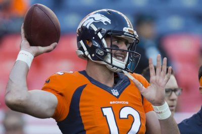 Denver Broncos: Paxton Lynch sharp in drills vs. San Francisco 49ers