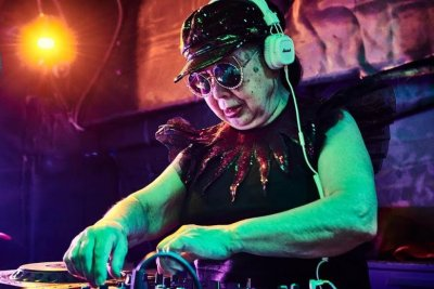 Japanese woman, 83, dubbed world's oldest club DJ