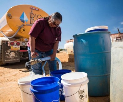 Solar-powered cisterns bring running water to Navajo homes