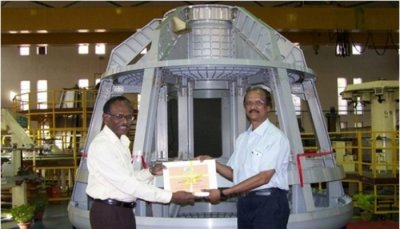 India unveils its own astronaut crew capsule, plans test launch