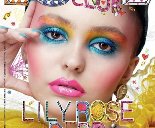 Lily-Rose Depp on cover of Love Magazine
