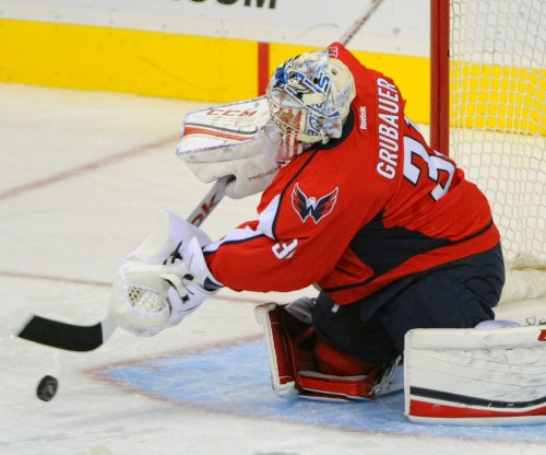 Philipp Grubauer, Washington Capitals shut down New Jersey Devils