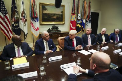 Trump to health insurance CEOs: Market will stabilize