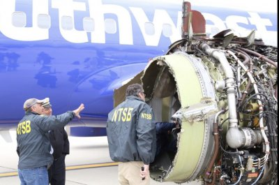 NTSB: Fan blade missing from engine of Southwest plane