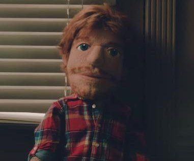Ed Sheeran is a heartbroken puppet in 'Happier' music video