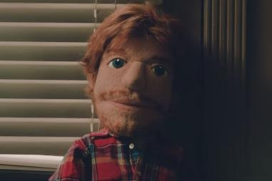 Watch: Ed Sheeran is a heartbroken puppet in 'Happier' music