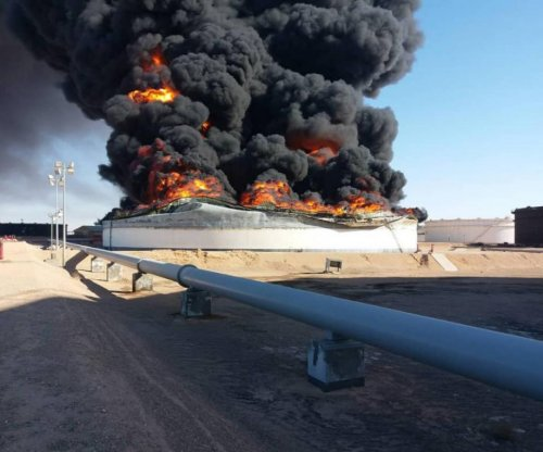 Libyan oil depots suffer catastrophic blow