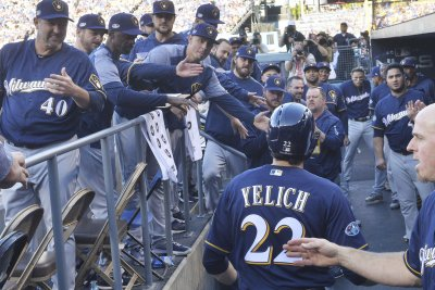 Brewers' Christian Yelich abuses Cardinals pitchers for three homers