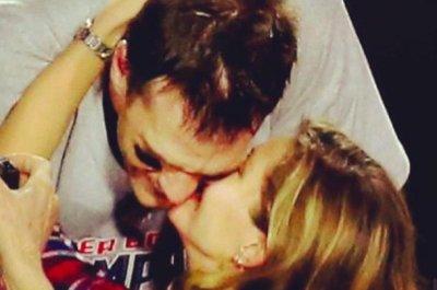 Gisele Bundchen celebrates Patriots win with 'daddy' Tom Brady