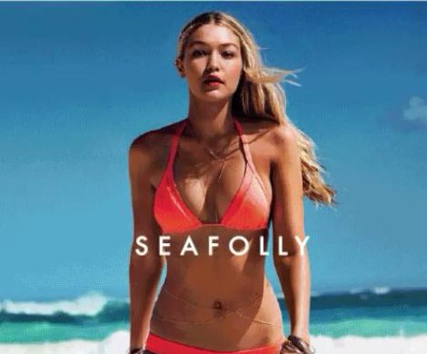 Gigi Hadid lands swim campaign with Seafolly