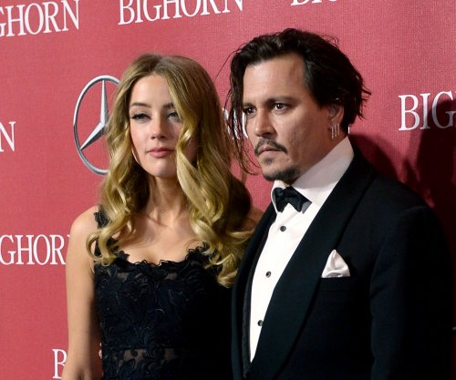 Johnny Depp thanks wife Amber Heard in speech at Palm Springs Film Festival Awards