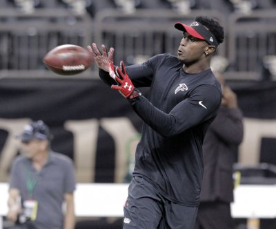 Atlanta Falcons WR Julio Jones questionable for Los Angeles Rams' game