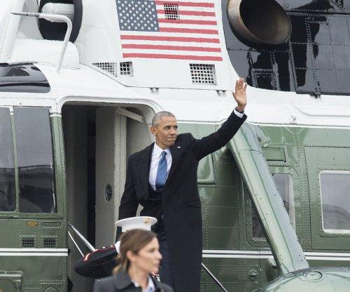 Obama gives final remarks at Joint Base Andrews