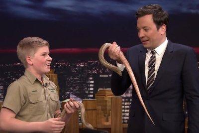 Robert Irwin returns to 'Tonight Show' with more animals