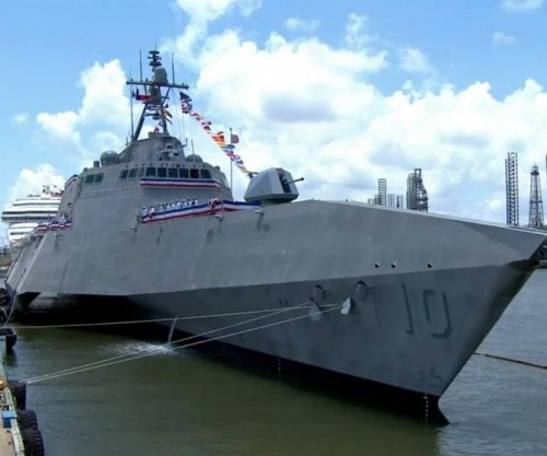 USS Gabrielle Giffords commissioned in Texas