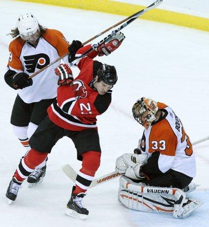 NHL: Philadelphia 2, New Jersey 1