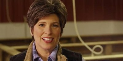 Joni Ernst ad goes back to her pig-farming roots