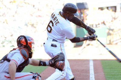 Pittsburgh Pirates win on Starling Marte's second walk-off