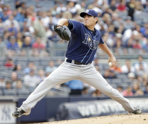Tampa Bay Rays trade LHP Matt Moore to San Francisco Giants for three players
