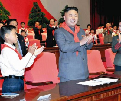North Korea's Kim Jong Un visits new youth campsite