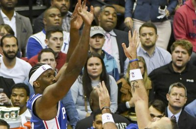 Band's back together as Philadelphia 76ers defeat New York Knicks