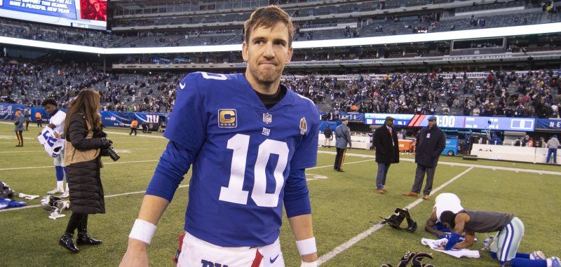 Eli Manning expects Giants to take quarterback in 2019 NFL
