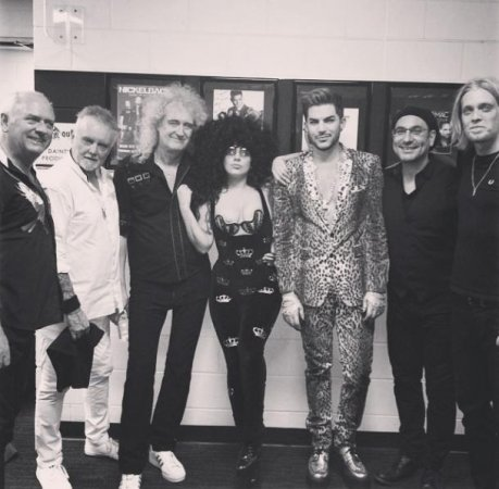 Adam Lambert, Lady Gaga perform homage to Queen