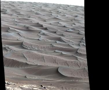 NASA's Curiosity rover reaches Martian sand dunes