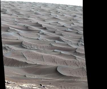NASA's Curiosity rover reaches Martian sand dunes