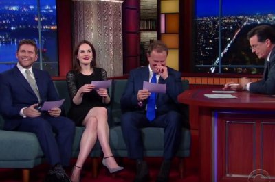 'Downton Abbey' stars read lines with American accents