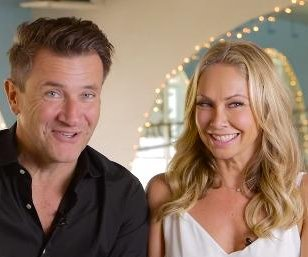 Kym Johnson, Robert Herjavec marry in Los Angeles