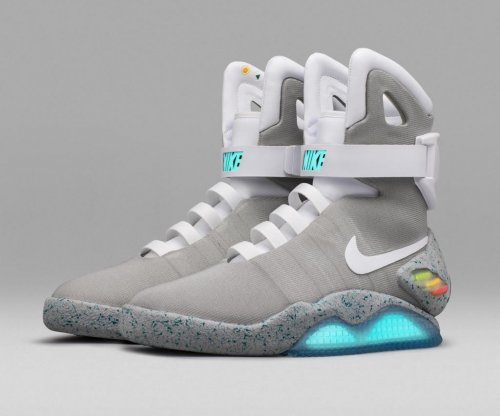 Nike raffling off 89 pairs of 'Back to the Future' inspired self-lacing sneakers