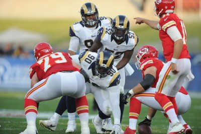 Los Angeles Rams DT Aaron Donald remains a no-show as camp practices begin