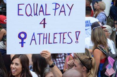 Five U.S. women's soccer team players file wage equality claim