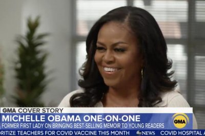 Michelle Obama hopes daughters have learned 'power of their voices'