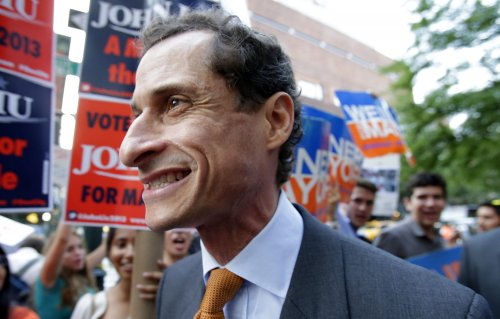 Weiner hints at a comeback in message to supporters