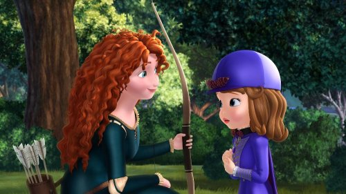 Princess Merida from 'Brave' to appear in 'Sofia the First: The Secret Library'