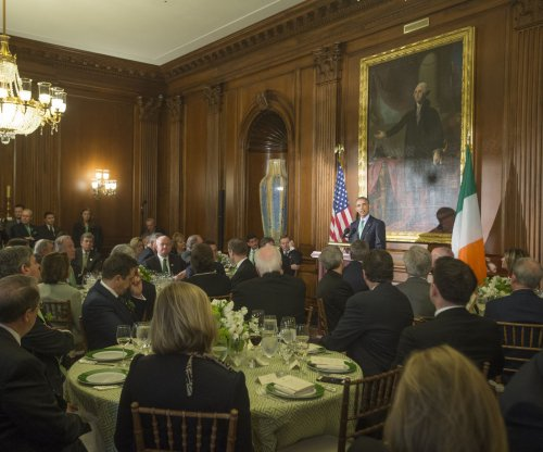 Obama urges civility in politics, celebrates Ireland at luncheon with Ryan