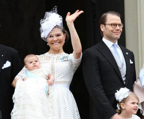 Prince Oscar of Sweden christened in Stockholm