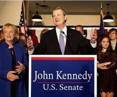 Louisiana Republican John Kennedy easily wins Senate runoff