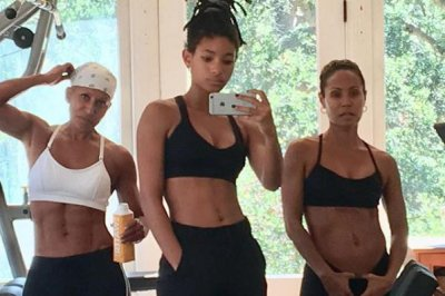 Jada Pinkett Smith posts workout photo with mom, daughter Willow