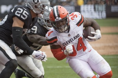 Jaguars trade for Browns RB Carlos Hyde
