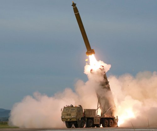 N. Korea says it tested new super-large multiple rocket launcher
