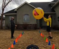 Idaho men pass giant beach ball 4,169 times for Guinness record