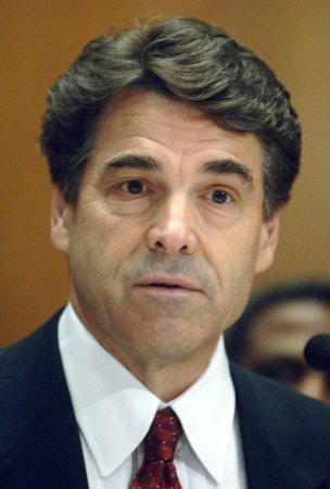Texas Gov. Perry wins historic third term