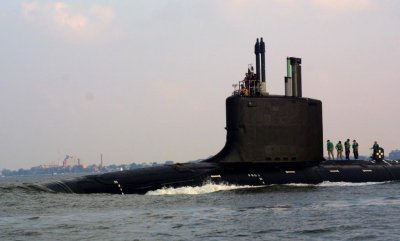 U.S. Navy receives new attack submarine