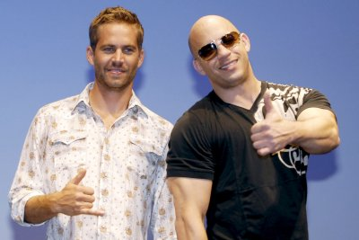 Vin Diesel honors Paul Walker at 'Furious 7' screening